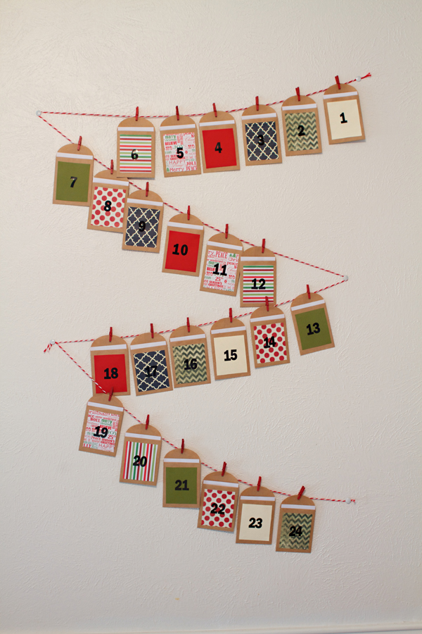 Diy Advent Calendar  Beth Dreyer