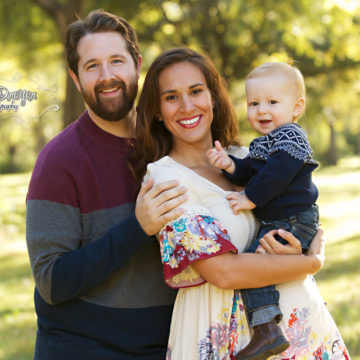 Horning Family | Dallas Outdoor Family Photography