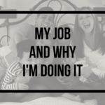 My New Job and Why I'm Doing it